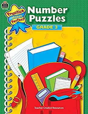 Number Puzzles: Grade 3 9781420639087
