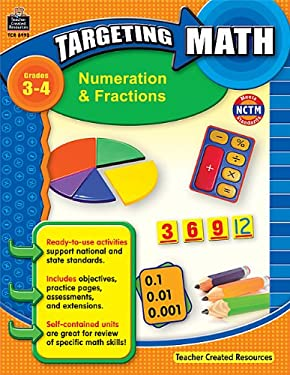 Numeration & Fractions, Grades 3-4 9781420689938