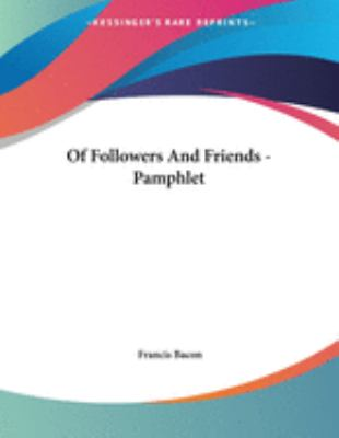 Of Followers and Friends - Pamphlet
