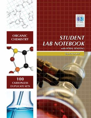 Organic Chemistry Student Lab Notebook 9781429275996