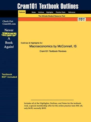 Studyguide for Macroeconomics by McConnell & Brue, ISBN 9780072982725 9781428811065