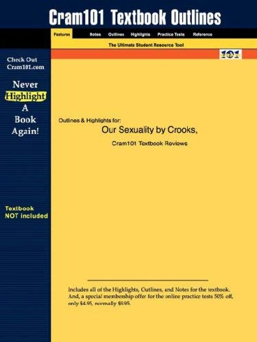 Studyguide for Our Sexuality by Crooks & Baur, ISBN 9780534633752