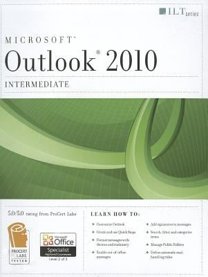Microsoft Outlook 2010, Intermediate [With CDROM] 9781426021190