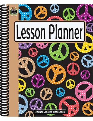 Peace Signs Lesson Planner 9781420627244
