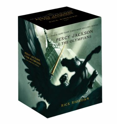 Percy Jackson Pbk 5-Book Boxed Set 9781423136804