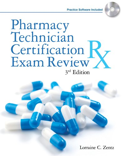 Pharmacy Technician Certification Exam Review [With CDROM] 9781428320628