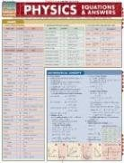 Physics Equations & Answers Laminate Reference Chart 9781423201908