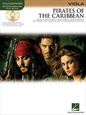 Pirates of the Caribbean for Viola [With CD] 6364613