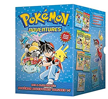 Pokemon Adventures Red & Blue Box Set: Volumes 1-7 9781421550060