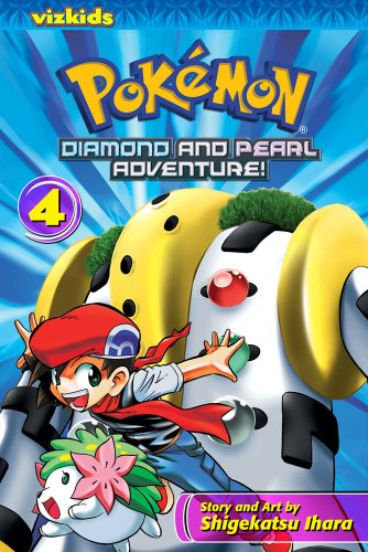 Pokemon Diamond and Pearl Adventure!, Volume 4 9781421526744