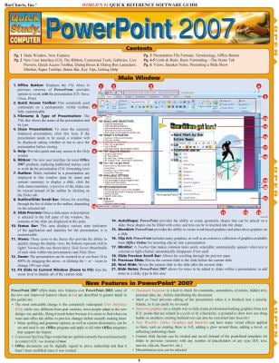 PowerPoint 2007 Quick Reference Software Guide