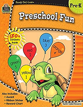 Preschool Fun: Pre-K [With 180+ Stickers, Ribbon Sticker and Reward Chart and Award] 9781420659764
