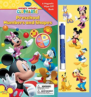 Preschool Numbers and Shapes [With Magnetic Pieces and Wipe-Off Marker] 9781423110125