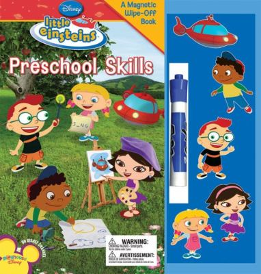 Preschool Skills [With Stickers and Magnets and Marker] 9781423110033