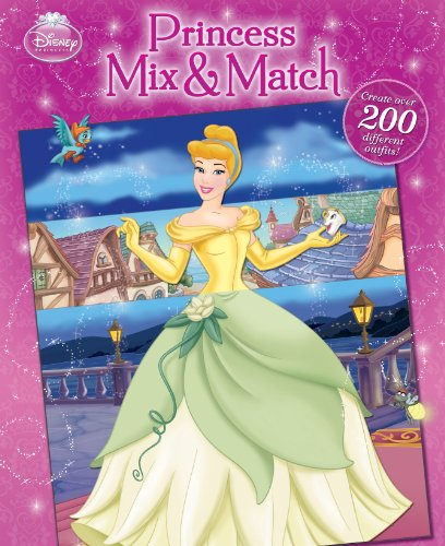 Princess Mix & Match 9781423124245