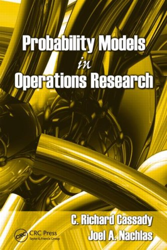 Probability Models in Operations Research 9781420054897