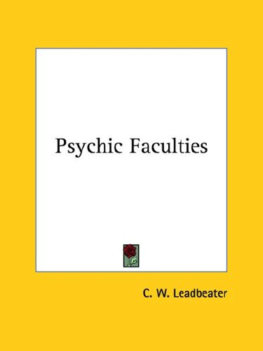 Psychic Faculties 9781425365820