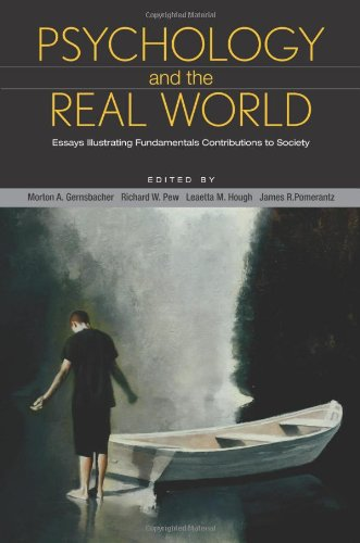 Psychology and the Real World: Essays Illustrating Fundamental Contributions to Society 9781429230438