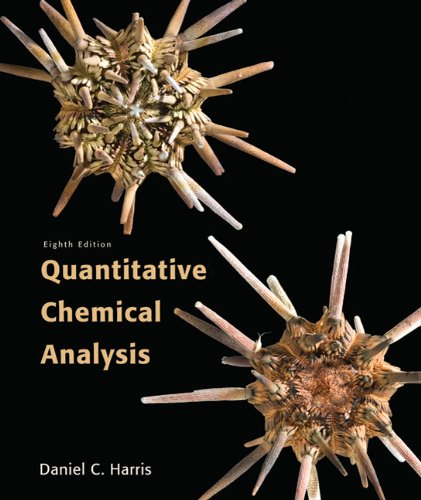 Quantitative Chemical Analysis 9781429218153