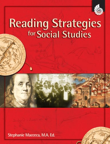 Reading Strategies for Social Studies, Grades 1-8 [With CDROM] 9781425800543