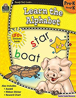 Ready-Set-Learn: Learn the Alphabet Prek-K 9781420659153