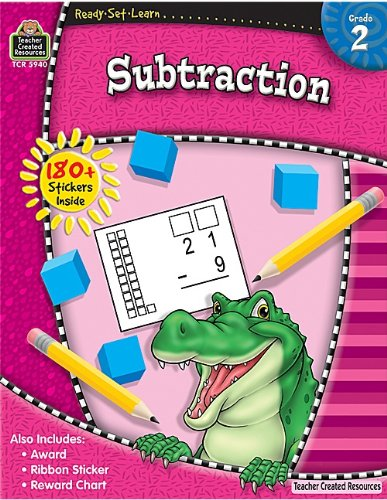 Subtraction, Grade 2 9781420659405