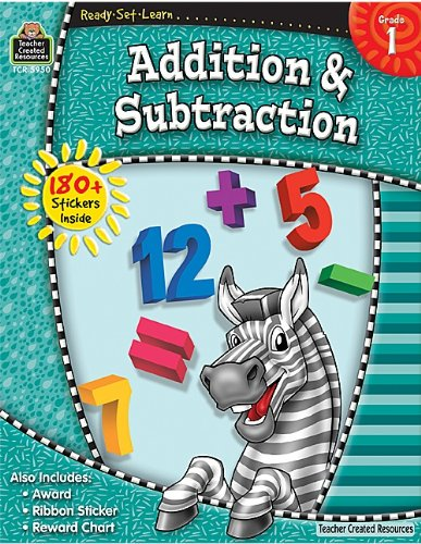 Addition & Subtraction, Grade 1 9781420659504
