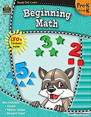 Ready-Set-Learn: Beginning Math Prek-K 9781420659535