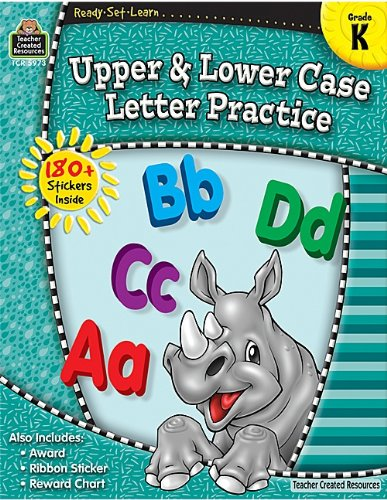 Upper & Lower Case Letter Practice, Grade K