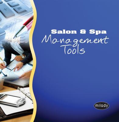 Salon & Spa Management Tools 9781428353176