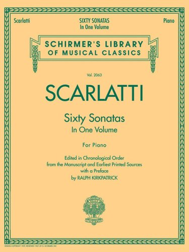 Scarlatti: Sixty Sonatas in One Volume for Piano 9781423417859