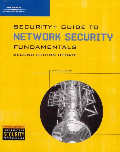 Security+, Update for Guide to Network Security Fundamentals 9781428360853