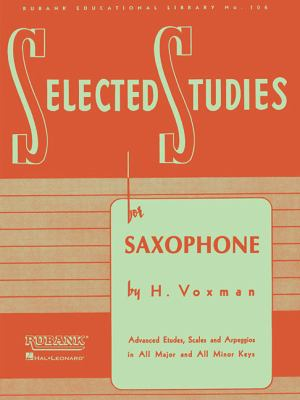 Selected Studies: Saxophone 9781423445272