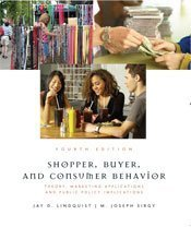 Shopper, Buyer, and Consumer Behavior: Theory, Marketing Applications, and Public Policy 9781426630507