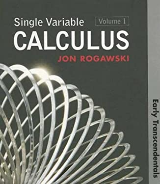 Single Variable Calculus, Volume 1: Early Transcendentals 9781429210775