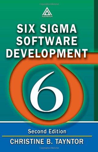 Six SIGMA Software Development 9781420044263