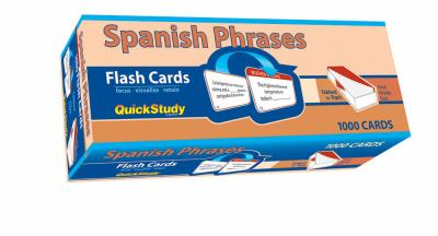 Spanish Phrases Flash Cards 9781423204275