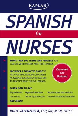 Spanish for Nurses 9781427799760