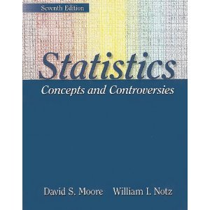Statistics: Concepts and Controversies 9781429201254