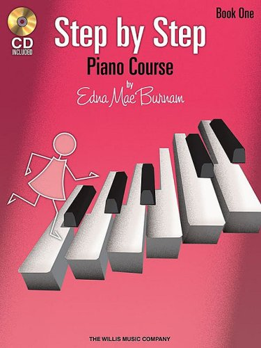 Step by Step Piano Course, Book 1 [With CD] 9781423436058
