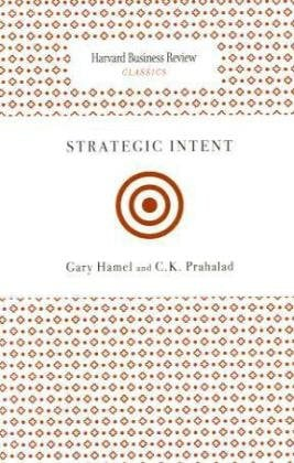 Strategic Intent 9781422136546