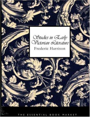 Studies in Early Victorian Literature 9781426454875