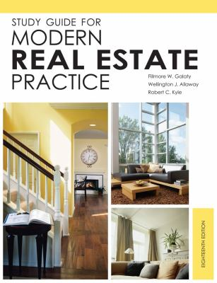 Study Guide for Modern Real Estate Practice 9781427789457