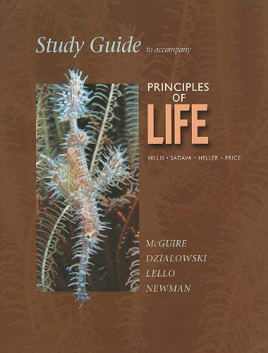 Study Guide to Accompany Principles of Life 9781429279307