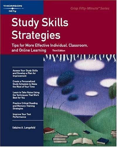 Study Skills Strategies 9781426090851