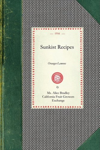 Sunkist Recipes 9781429010221