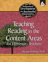 Teaching Reading in the Content Areas for Elementary Teachers 6421569