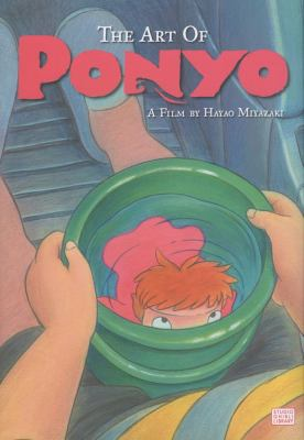 The Art of Ponyo on the Cliff by the Sea 9781421530642
