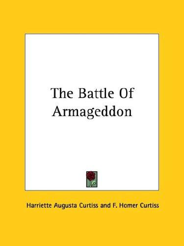 The Battle of Armageddon 9781425366865