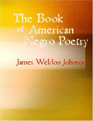 The Book of American Negro Poetry 9781426458156